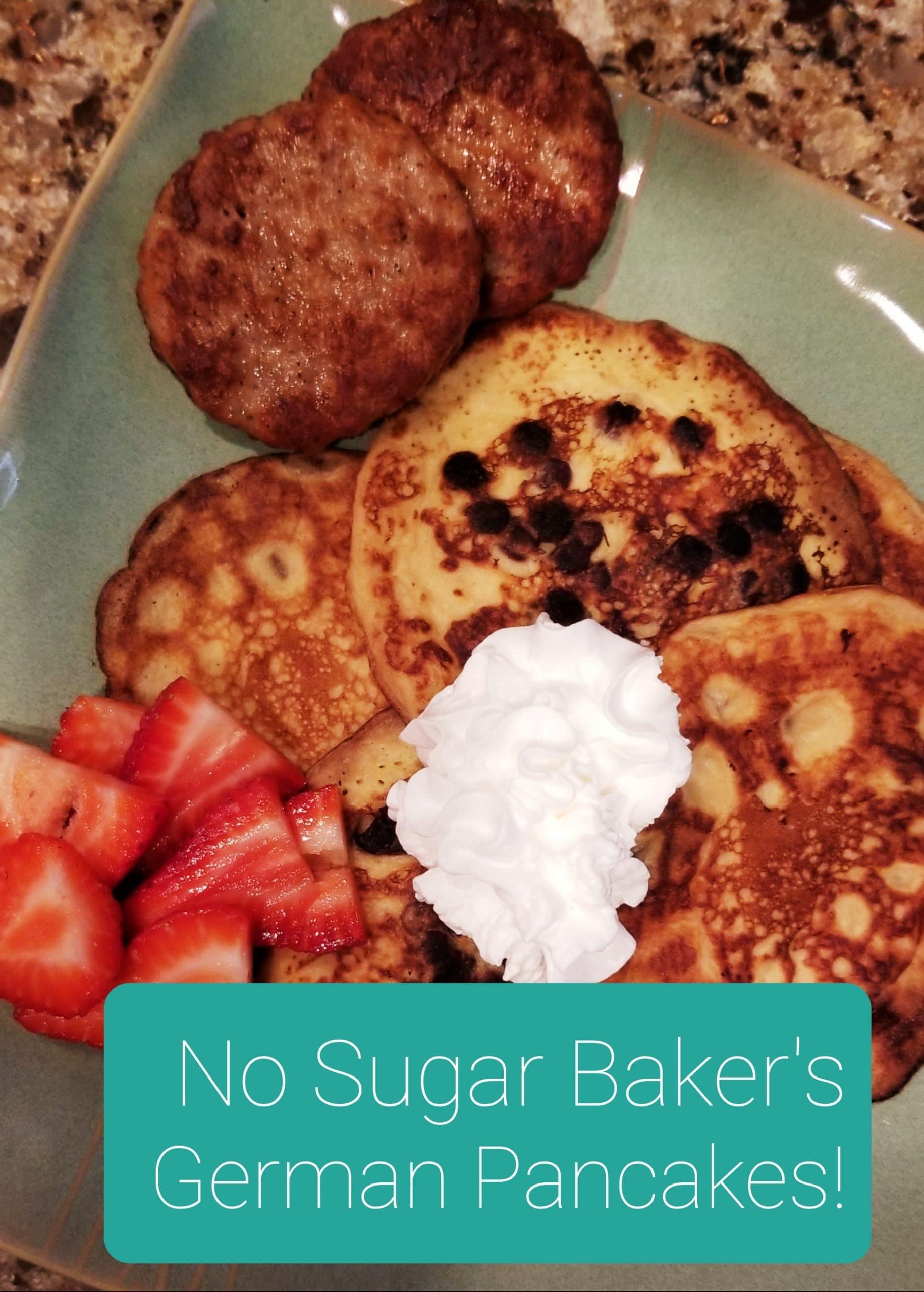 No Sugar Baker German Pancakes