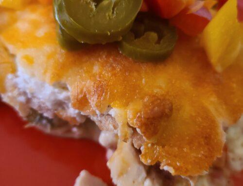 Turn Up the Heat! (No Sugar Baker's Chicken Enchiladas!)