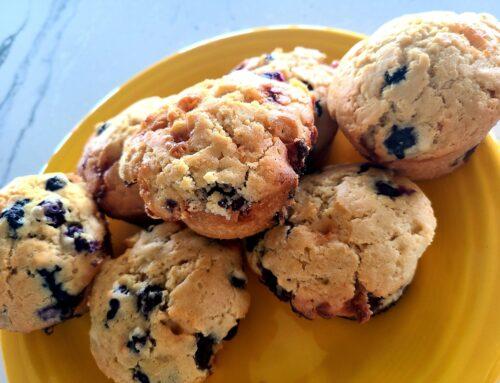 No Sugar Baker's Blueberry Breakfast Cookies!